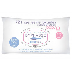 Lingettes Baby Byphasse