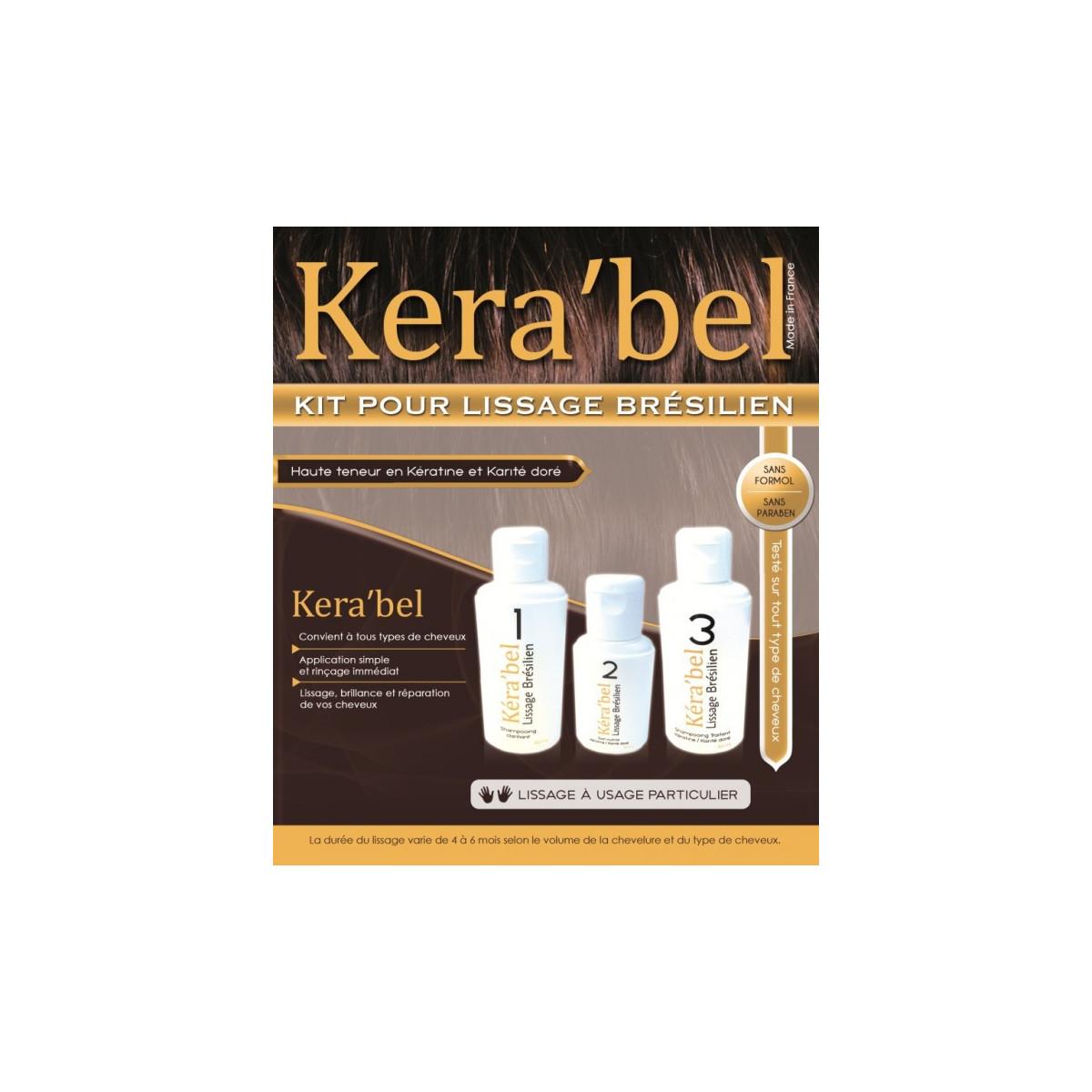 Kit de lissage Brésilien Kera'bel