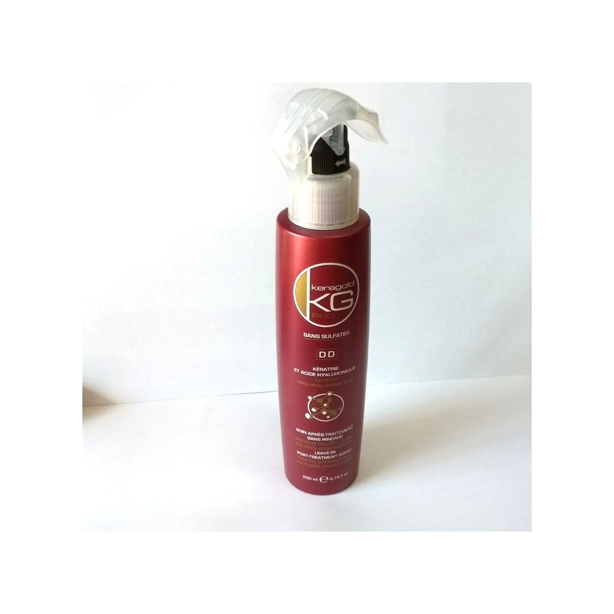Soin kératine et acide hyaluronique DD - Keragold Pro 200ml