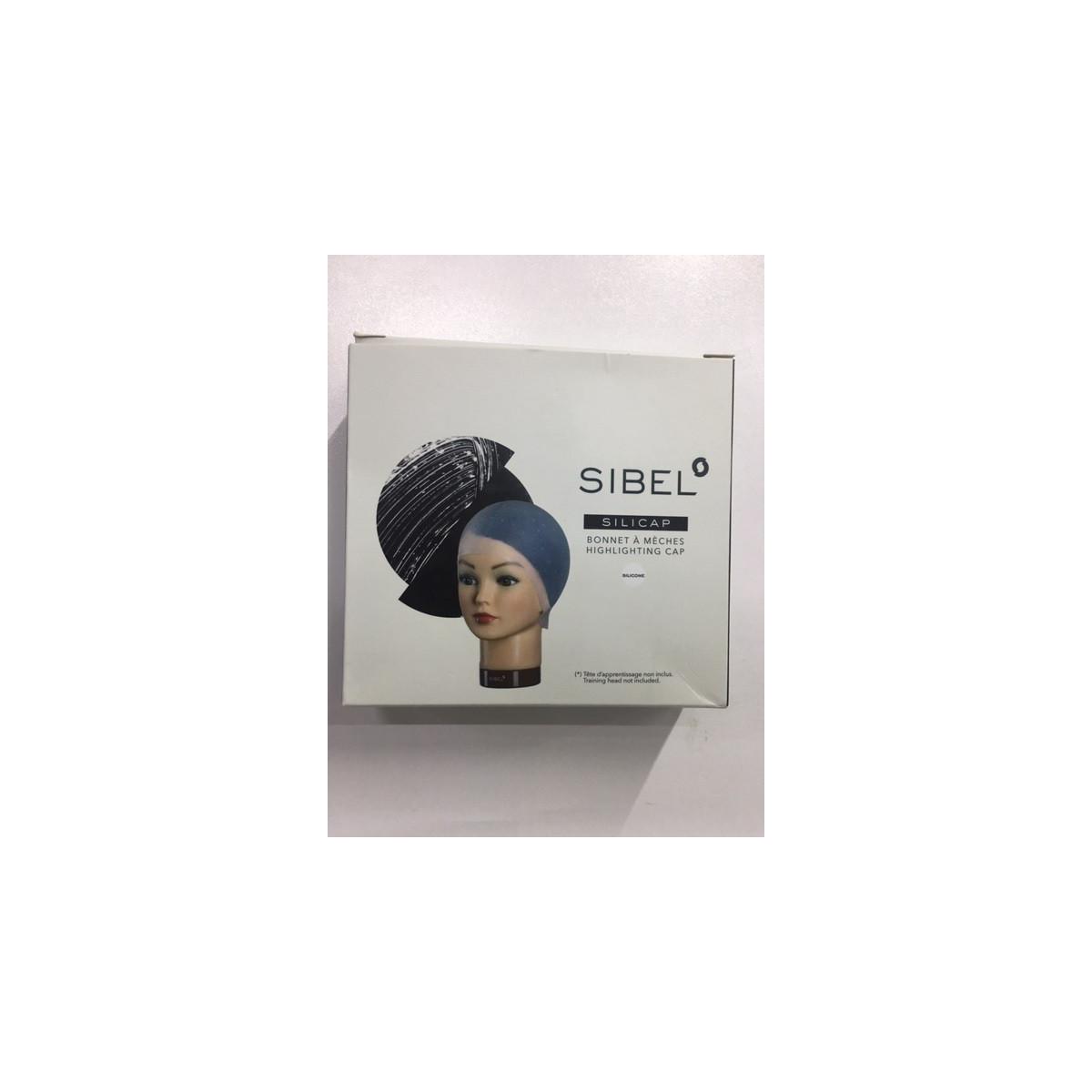 Bonnet à mèches en silicone avec perforations